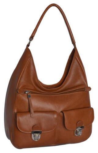 Shoulder Bag Toffee Brown by Jones Bootmaker 100/% Leather Brand New RRP £69
