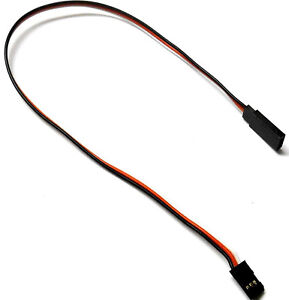 C2001A-6-5-50-cm-22AWG-Compatible-Futaba-Servo-Recto-Extension-De-Alambre-500-Mm-x-1