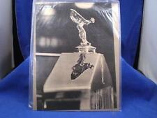 Original Vintage Rolls Royce Ad: The Flying Lady Mascot