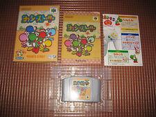 N64 YOSHI STORY JAPONES COMPLETO NINTENDO 64