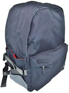 Zaino-Uomo-Donna-Lumberjack-Backpack-Men-Woman-Nero-B003