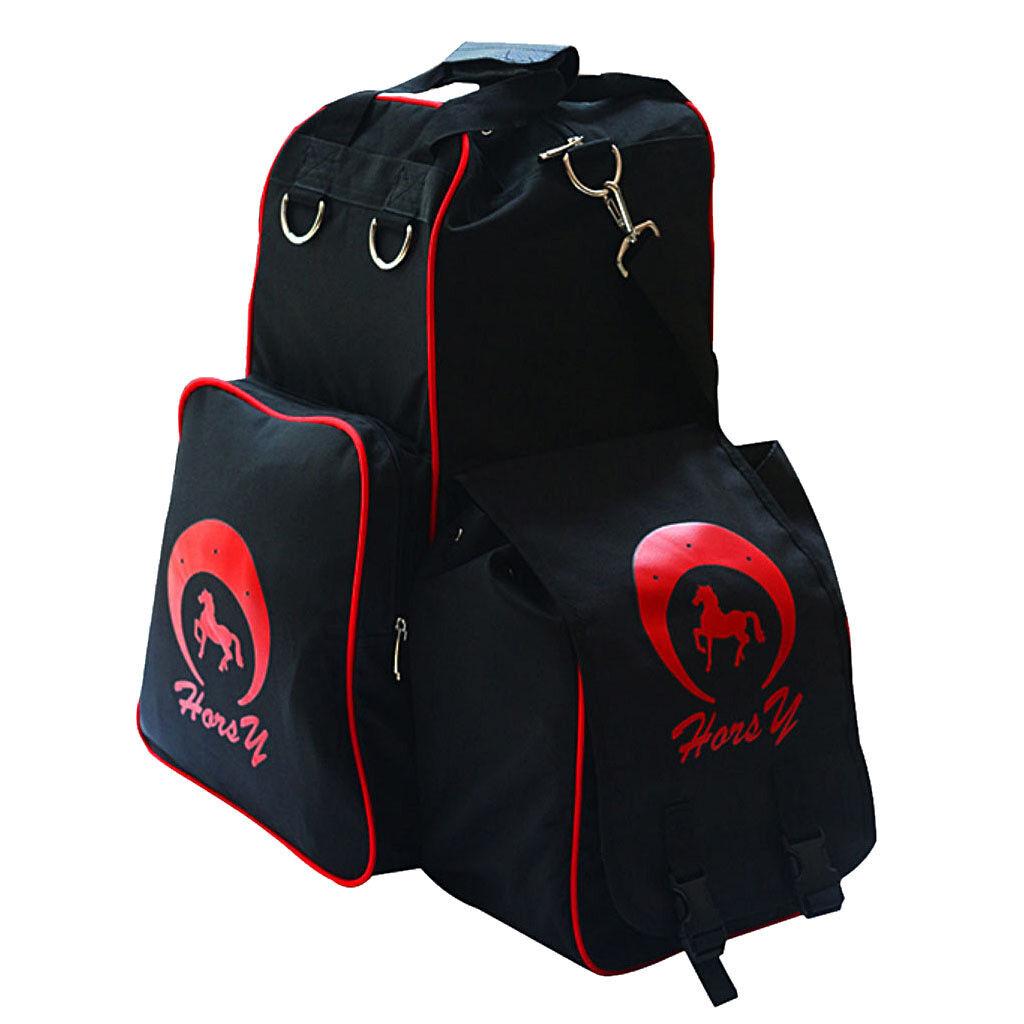 Oxford Horse Riding Boots Helmet Carry Bag Waterproof Equestrian Duffle Bag