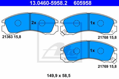 13.0460-5958.2 per Mitsubishi Space Runner N va ATE Pinza Freno Set assale anteriore