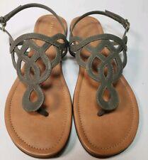 a6825305cd69 item 8 KELLY  KATIE Women s Faux Leather Poppie Flat Sandals! Size 8.5 - KELLY  KATIE Women s Faux Leather Poppie Flat Sandals! Size 8.5