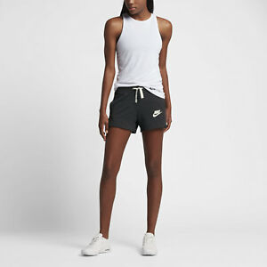 Nike Women s Md - GYM CLASSIC SWEATSHORTS - Black 884362 032 medium ... 9d0a5b0d33