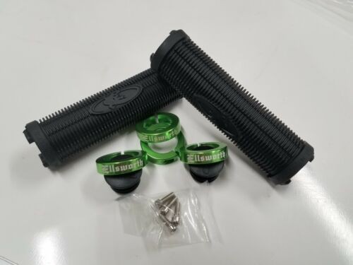 Lizard Skins Ellsworth Green Charger lock-on Grips
