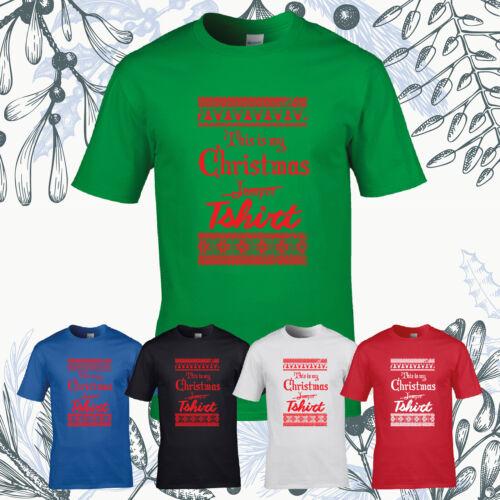 Este es mi regalo de Navidad Camiseta puente Gracioso presentes Navidad Stocking Camiseta Top Nuevo