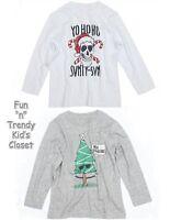 77kids By American Eagle Boys Size 4t 5t Christmas Holiday Tee Shirt U-pick