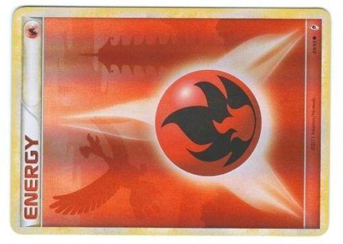 POKEMON APPEL LEGENDES HOLO N°  89//95 ENERGY FEU ENERGIE FIRE HO-OH