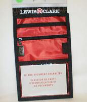 - Lewis N Clark Neck Id & Document Organizer- 1243 - Red