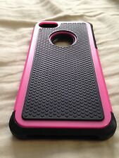 Iphone 4 case pink and black