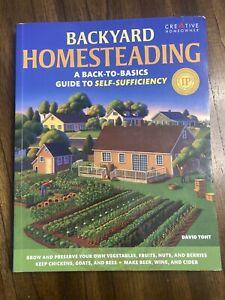 backyard homesteading book