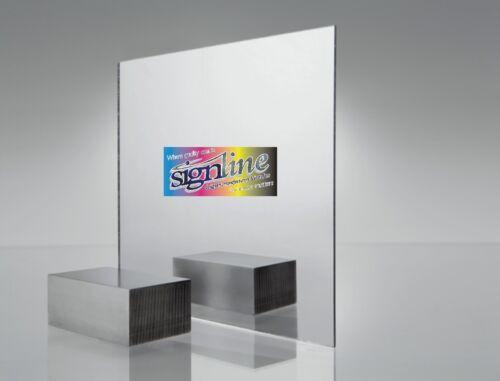 See-Thru Mirror Acrylic Sheet Various Sizes Plaskolite 6mm Two Way