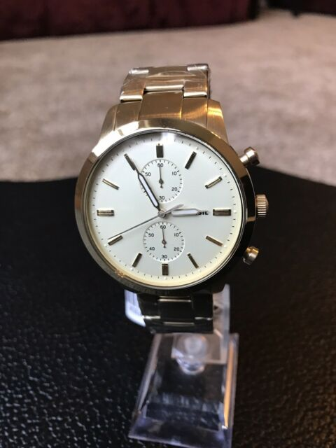 9caf0bad3 Fossil Mens Townsman 44mm Chronograph Gold-tone Watch FS5348 for ...