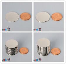 1 Dia N52n45 25mm Super Strong Thin Round Rare Earth Neodymium Disc Magnets
