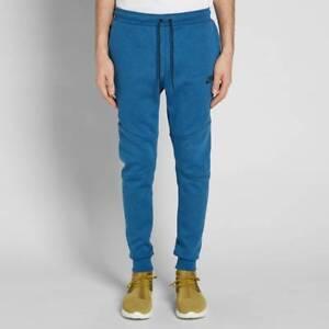 aca216a2 Nike Sportswear Tech Fleece Men's Pants Coastal Blue/Black 805162 ...