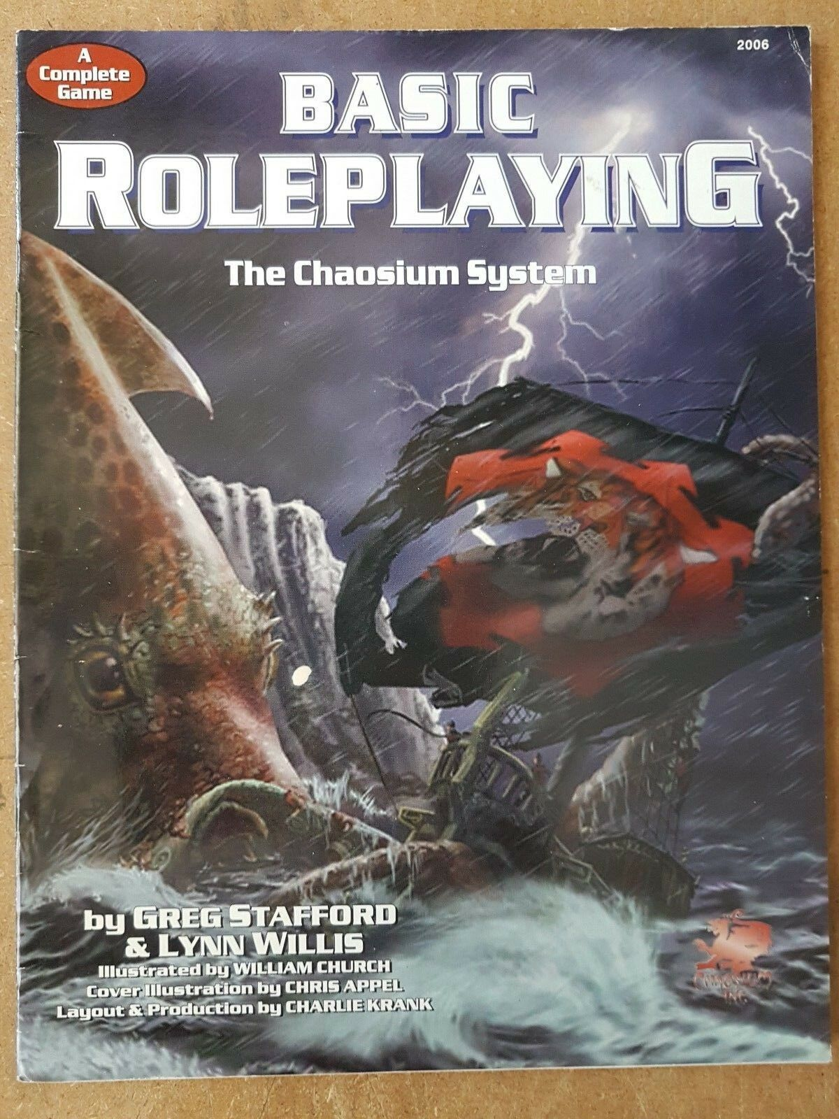 Un Completo Guida a Base Roleplaying The Chaosium Sistema - Chaosium Inc