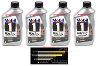 Mobil 1 0w-50 Racing Synthetic Zinc-phosphorous Motor Oil - 1 Quart (pack Of 4)
