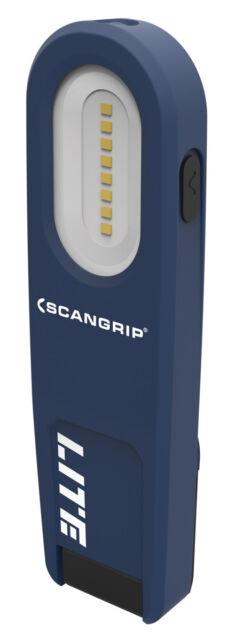 Scangrip WORK LITE M LED Akku Arbeitsleuchte Akkulampe Magnet Handlampe Haken