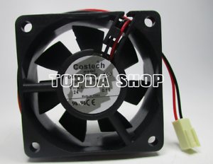 For COSTECH D06A05HWS A00 inverter cooling fan DC24V 0.15A 6CM 2wire