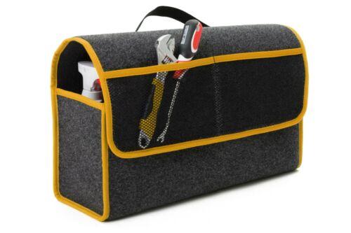 Kofferraumtasche Organizer Werkzeugtasche Autotasche Rand in GELB für FORD