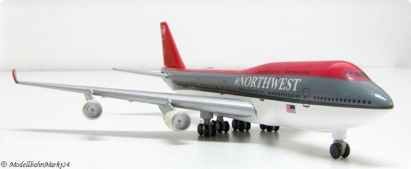 HERPA Wings Boeing 747-400 Northwest Airlines