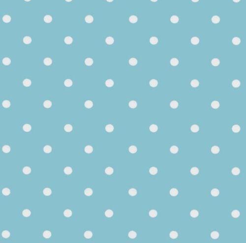 Möbelfolie Blau Punkte Dots 0,45 m x 2 m Dekorfolie Selbstklebend Klebefolie