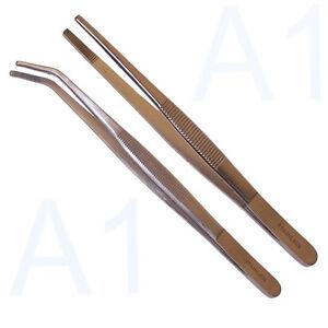 Pinzetten 40 cm gerade / gebogen oder Set