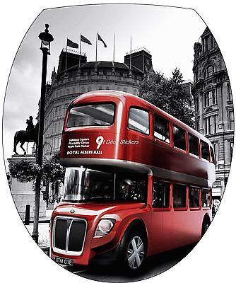 Sticker abattant de WC Bus Londres 35x42cm Réf 312
