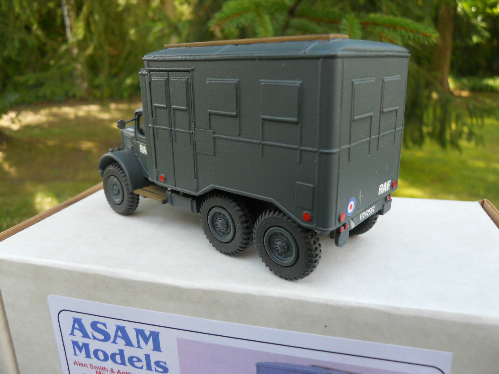 VEHICULE MILITAIRE ASAM MODELS MODELS MODELS AUSTIN K6  WORKSHOP RAF  MINT IN BOX e20a86