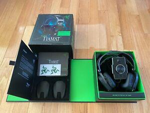 Razer Tiamat 7 1 Elite Surround Sound Over Ear Gaming Headsets For Pc Ebay