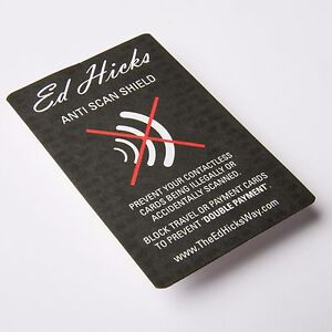 Details about The Ultra-Thin Alternative to RFID Blocking Sleeve Cards  Shields & Protectors