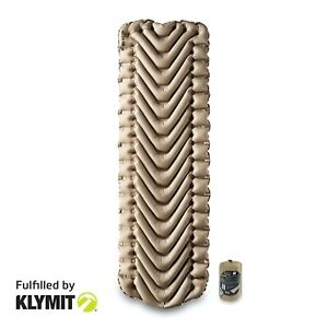 KLYMIT-Static-V-RECON-Lightweight-Sleeping-Camping-Pad-NEW-FACTORY-SECOND