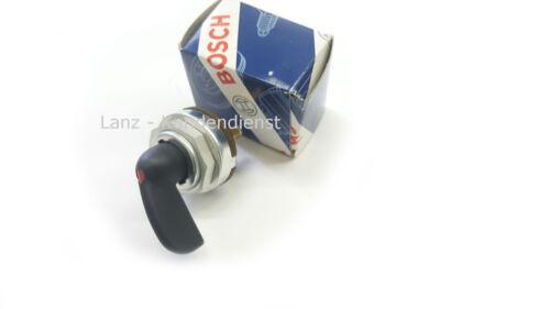1-Kreis Blinkerschalter mit Kontrollleuchte Bosch für Traktor Lanz Bulldog