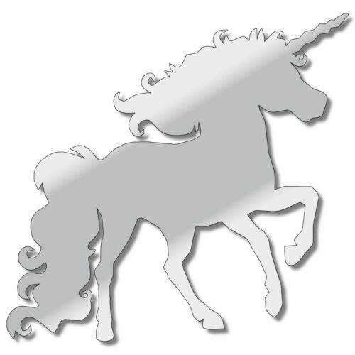 LASER CUT ACRYLIC PLASTIC 3MM THICK PERSPEX UNICORN