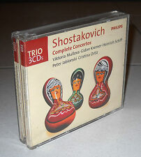 Box 3 Cd DMITRI SHOSTAKOVICH Complete Concertos Seiji Ozawa Mullova Kremer