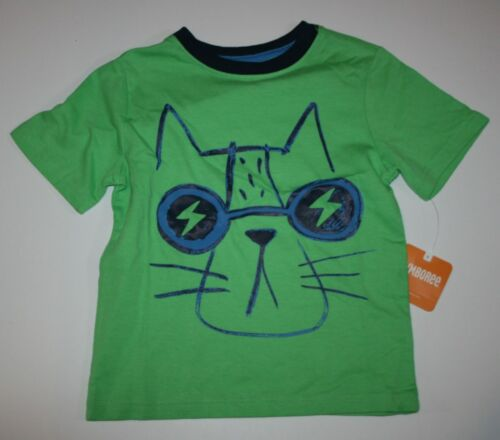 New Gymboree Top Everyday Playwear Cool Cat GraphicTee NWT Size 2T 3T 4T Boys
