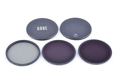ND8 ND1000 Gobe Filter Kit 37mm MRC 16-Layer: UV CPL Polarizer