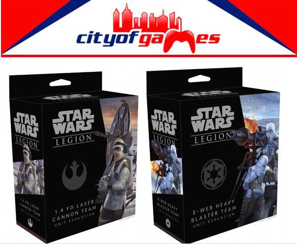 Star Wars Legion 1.4 FD Laser Cannon and E-Web Heavy Blaster Team Unit Expansion