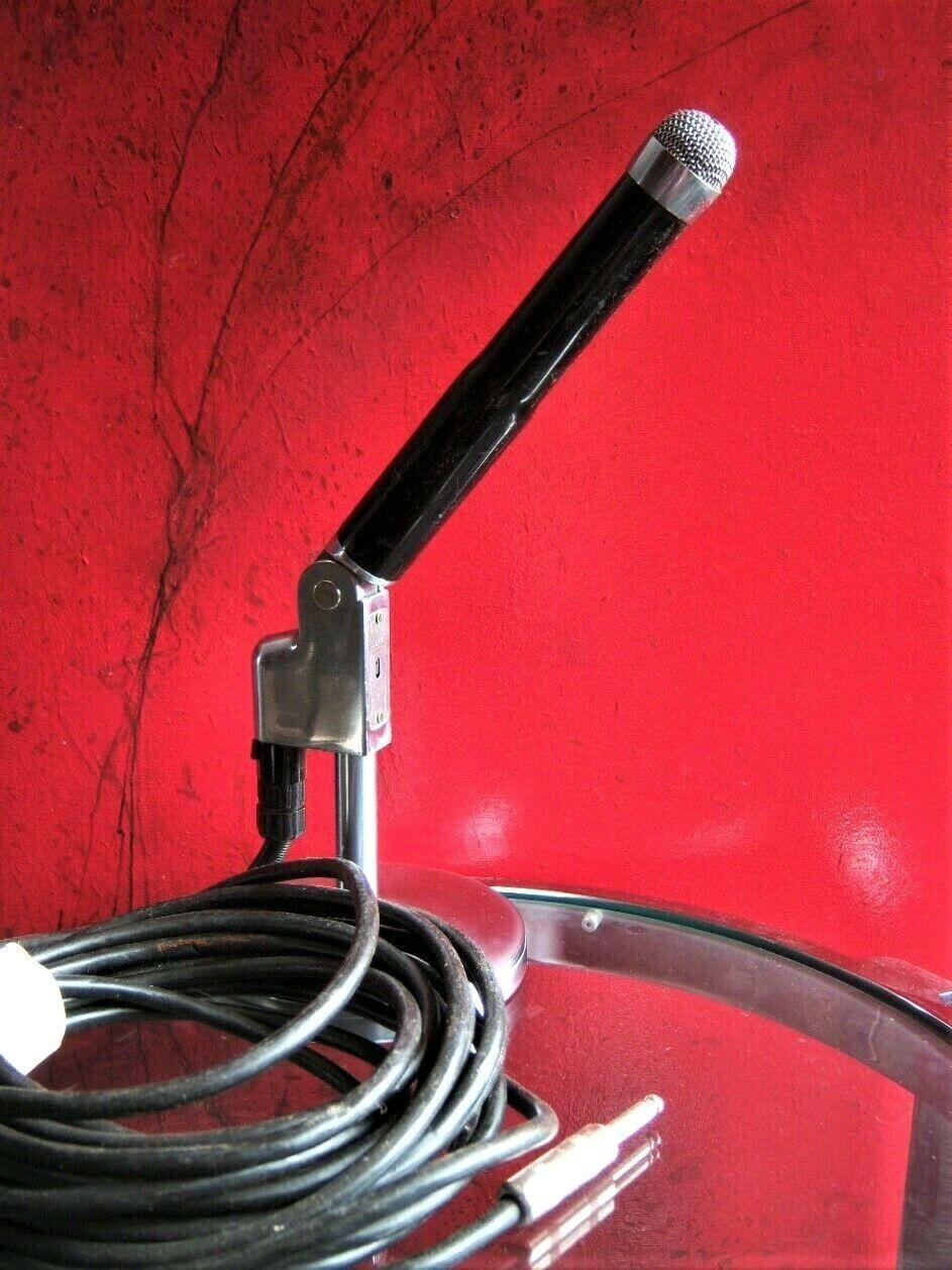 Vintage 1950er's Dynamic Clark Dick cable w Z DUAL Mikrofon