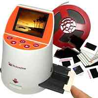 Super 20mp 7-in-1 Film To Digital Negative Converter Film Copier With Lcd