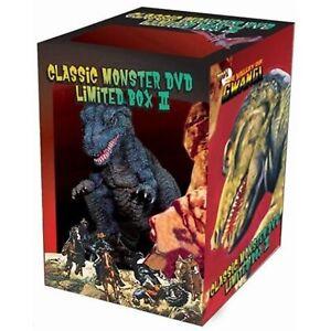 Klassisch-Monster-DVD-Limitierte-Kiste-2-mit-Gwangi-Figur-Ray-Harryhausen-Used