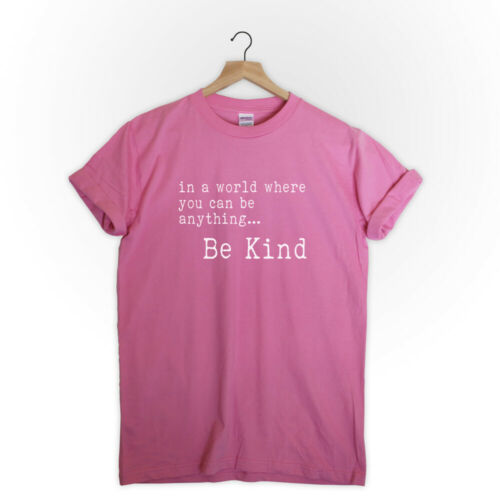 in a world where you can be anything be kind shirt be nice shirt gift for her