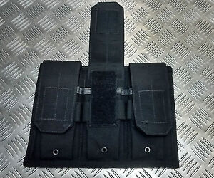 Genuine-British-Military-Police-Black-Hawk-Tactical-Triple-Mag-Pouch-Assault