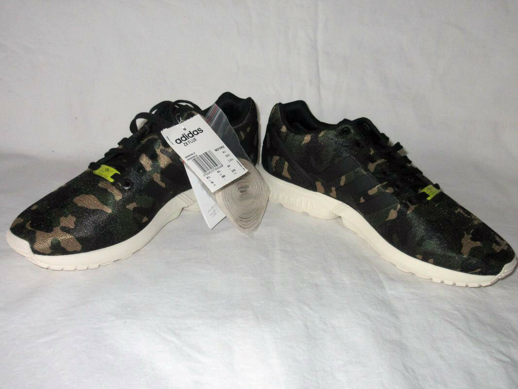 NEUADIDAS 44NEW FLUX CAMO CASUAL ZX TORSION CAMOUFLAGE EQUIPMENTARMEEGR 44NEW NEUADIDAS 1d8084