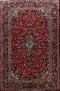 Vintage-Floral-Ardakan-Hand-Knotted-Traditional-Area-Rug-10-039-x13-039-Oriental-Carpet