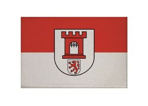 Aufnaeher-Koeln-OT-Porz-Fahne-Flagge-Aufbuegler-Patch-9-x-6-cm