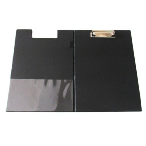 A4 Clipboard Foolscap FoldOver Office Document Holder Filing Clip Board, B P6T5