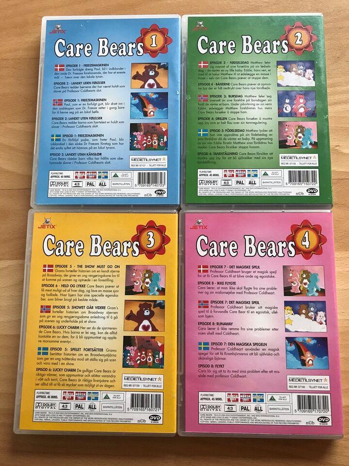 Care Bears , DVD, tegnefilm