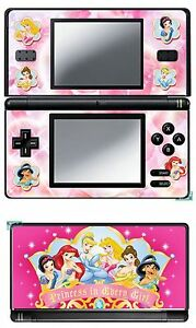 Details Zu Haut Sticker Aufkleber Deko Für Nintendo Ds Lite Ref 14 Disney Prinzessin